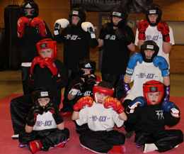 It is now the time for Northern Ireland's wannabe martial art kickboxers as young as 7 years-old to face each other in a friendly event international event